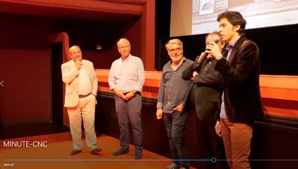 LA MINUTE DE L'EDEN – Mention spéciale Prix de la Salle innovante du CNC