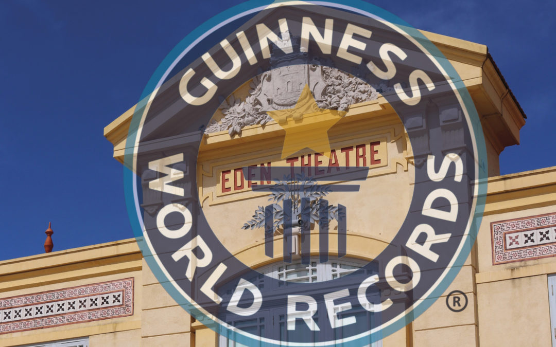 L'Eden au Guinness World Records
